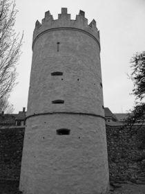 Nostalgie Wachturm am Hirschgraben von kattobello