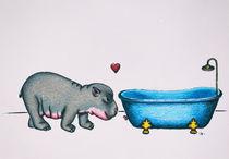 hippo in love by danielaschlechmair