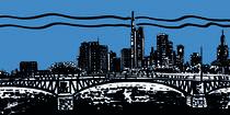 Frankfurt night blue by Fabio Marchese