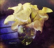 Callalily's for Easter  copyright Mary Lee Parker 17, von Mary Lee Parker