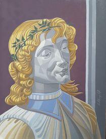 Engel nach Botticelli von Wolfgang Kaps