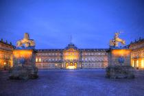 Neues Schloss, Stuttgart, Baden-Württemberg, Deutschland, Europa by Torsten Krüger
