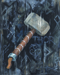 Thors Hammer by E. Axel  Wolf