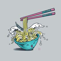The Wave of Noodles by Claudio Nozza Art