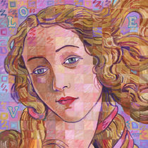 Variations On Botticelli's Venus – No. 4 (Iridescence) by Randal Huiskens