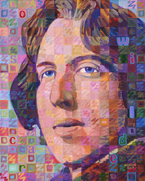 Portrait Of Oscar Wilde by Randal Huiskens
