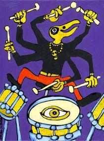 Trommeslager by Fine Art Nielsen