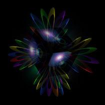 Abstrakt in Perfektion - Licht ist Energie 3 by Walter Zettl