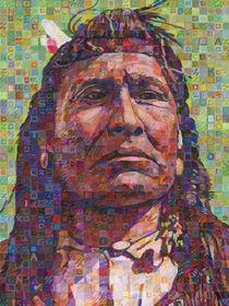 New Chest Of The Piegan Blackfoot von Randal Huiskens