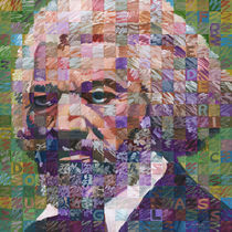Portrait Of Frederick Douglass by Randal Huiskens