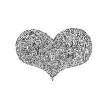 All I need - Radiohead lyrics doodle by Mariana Beldi