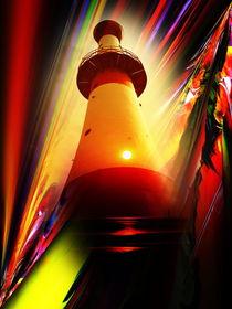Leuchtturm - Romantik 5 von Walter Zettl