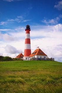 Westerhever Leuchtturm von AD DESIGN Photo + PhotoArt