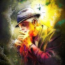Leonard Cohen Madness von Miki de Goodaboom