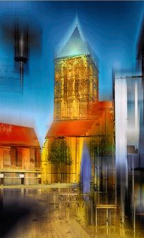 Kirchplatz in Rheine, Nordrheinwestfalen by Horst  Tomaszewski