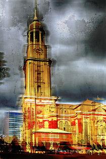 St.Michaeliskirche in Hamburg, Germany by Horst  Tomaszewski