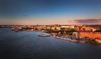 Gothenburg skyline during sunset von Bastian Linder