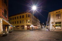 Gothenburg Haga at night by Bastian Linder