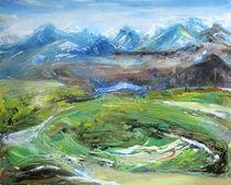 Isländische Landschaft 2 von Renée König
