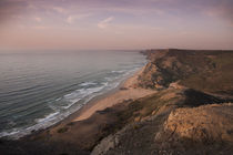 Coast and beach at Sagres at Algarve in Portugal by Bastian Linder