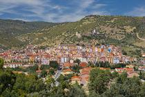Colourful houses of Bosa in Sardinia von Bastian Linder