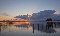 Lichtstimmung Hemmesldorfer See von Andrea Potratz