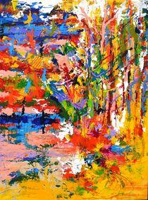Abstraktes 008 - Kliglon von Matthias Kronz