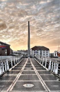 Vegesacker Hafen Brücke von Edmond Marinkovic