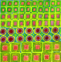 Connected filled Squares Fields von Heidi  Capitaine