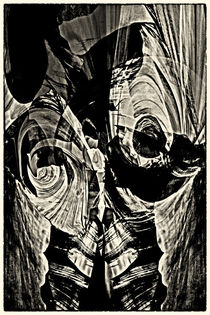 Black painting - Schwarzmalerei by Chris Berger
