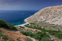 Coast in Krk, Croatia by Bastian Linder