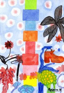 Shoe Tree by Heidi  Capitaine