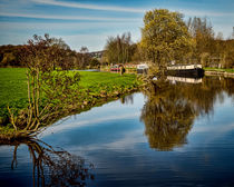 Canal Reflections von Colin Metcalf