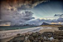 Sandy Beach by Stein Liland