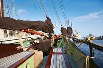 An Bord eines Segelschiffes von renard