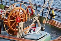 Steuerrad eines Segelschiffes von renard