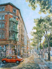 Karl-Heine-Straße in Leipzig by Ronald Kötteritzsch