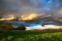 Wolken am Abend by Philippe Mendig
