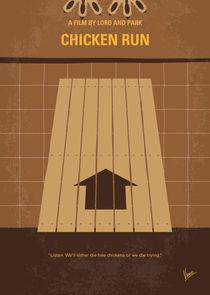 No789 My Chicken Run minimal movie poster by chungkong