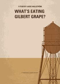 No795 My Whats Eating Gilbert Grape minimal movie poster by chungkong