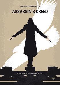 No798 My Assassins Creed minimal movie poster by chungkong