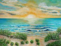 Sonnenuntergang am Meer von rita-markgraefe
