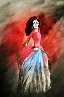Flamenco-Tänzerin II by Vera Markgraf