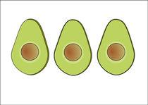Avocados by Jutta Ehrlich