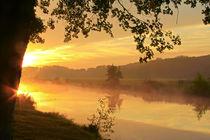 Flusslandschaft am Morgen by Bernhard Kaiser