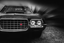 1972 ford gran torino, sport fastback by hottehue