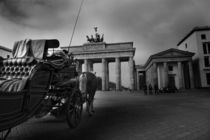 Brandenburg Gate, Berlin City von hottehue