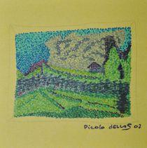 Staubern Pointingzeichnung Miniatur by art-dellas