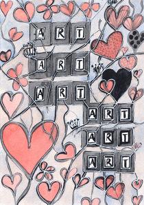 I Love Art  by Heidi  Capitaine