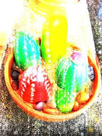 Stein Kaktus Insel by Viola Joisten